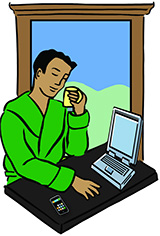 Teletrabajo para empleados de confianza
